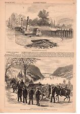 1877 Harper's Weekly - Funeral of General George Custer Print