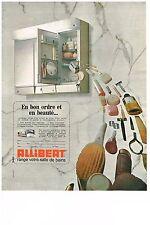 PUBLICITE  1970   ALLIBERT  armoire de toilette salle de bain