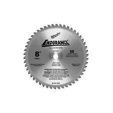 "MILWAUKEE METAL CUTTING SAW BLADE 8"" (200MM) X 5/8"" BORE X 50 TCT 48414520"