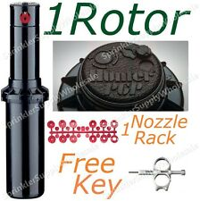 HUNTER PGP-ADJ ROTOR, NOZZLE RACK, ADJUSTMENT TOOL, SPRINKLER HEAD INSTRUCTIONS