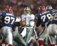 1993 Dallas Cowboys TROY AIKMAN Super Bowl XXVII 8x10 Photo MVP Football Print