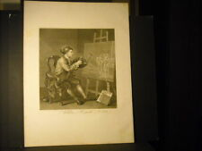 William Hogarth Self Portrait Etching/Mezzotint 1764