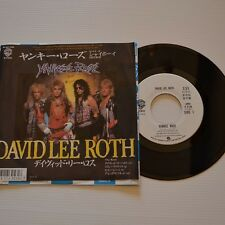"(VAN HALEN) David Lee ROTH - Yankee rose - 1986 7"" JAPAN PROMO SAMPLE"