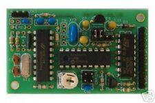 DTMF decoder kit, morse transpond, 6 outputs or serial