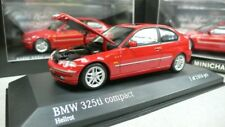 2000 BMW 3 compact RED  MINICHAMPS 431020070