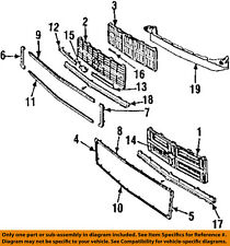 GM OEM Grille Grill-Air Deflector 15569084