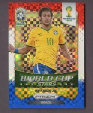 2014 Panini Prizm World Cup Neymar Jr World Cup Stars Red White Blue Brazil