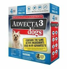 2 Advecta 3 for Small Dogs 5-10 lbs.4 Month Supply, Same as K9 Advantix II