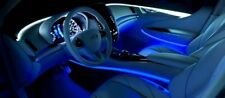 Blue LED Strip Lights For Car Interior Dash Door Panel Footwell Boot