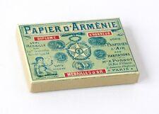 """Papier d'Arménie """" BOITE 1900 """" (PAPIER D'ARMENIE)"""