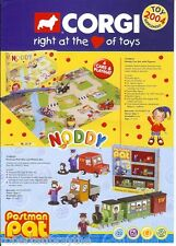Corgi diecast toys catalogue 4 page 2004 Postman Pat Noddy Little Red Tractor