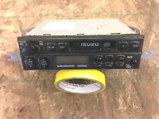 1999 isuzu trooper radio w/ cd & cassette 1998-2002