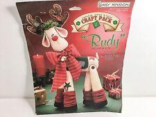 Daisy Kingdom Christmas Holiday Rudy Rudolph Reindeer Doll Kit 32310