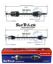 For Mazda Protege MX-3 FWD 92-93 & 97-98 Pair of Front CV Axle Shafts SurTrack