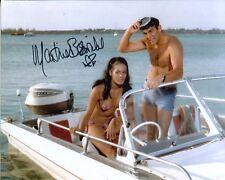 007 Bond girl Martine Beswick signed 8x10 Thunderball photo IMAGE No3
