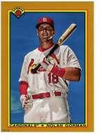 Nolan Gorman 2020 Bowman 1990 Bowman 5x7 Gold #90B-NG /10 Cardinals