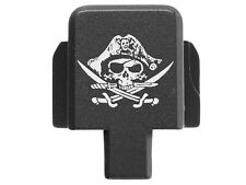 for Sig P320 Rear Slide Cover Plate 9Mm .357 .40 .45 Black Calico Jolly Roger