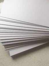 Crystal White Shimmer Metallic Cardstock 285GSM (Pack of 20) - 21 cm x 11 cm