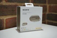 Sony WF-1000X Wireless In-Ear Noise Cancelling Headphones - Gold