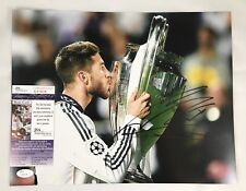 SERGIO RAMOS Signed Autographed 11x14 Photo Real Madrid Soccer Spain JSA COA 1