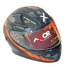 Casque de moto AXOR Crazy Full Face vision anti-buée