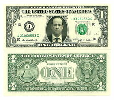 FRANCOIS HOLLANDE VRAI BILLET DOLLAR US ! Collection Président France Socialisme