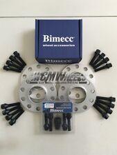 2x12mm+2x20mm Silver Alloy Wheel Spacers Black Bolts Locks BMW F30 F31 F32 F33