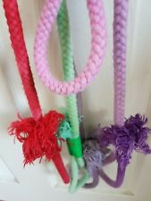 ROPE DOG  LEAD - MADE IN THE UK - LARGE to XL - OMBRE / TIE DYE - CLIP OR SLIP