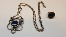 Necklace Ring Vintage Set Bent Larsen Denmark