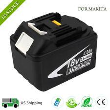 NEW 18V Li-ion 4500mAh Battery for MAKITA BL1845 BL1835 BTD142SH BL1830 194230-4