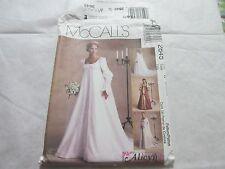 McCall's Pattern #2645 Uncut FF Sz Misses 20-24 Bridal Gown Renaissance/Costume