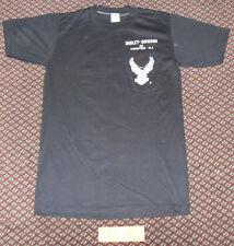 NWOT VTG 70s 80s Harley Davidson New Jersey Eagle Pocket T Shirt 3D Emblem USA S