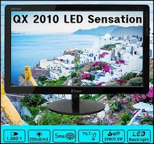 "QNIX - QX 2010 LED Sensation 20"" /1600x900 @ 60Hz /16:9 /DCR 50,000:1"