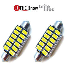 "Jtech 2x 42mm(1.72"") 12 5630 SMD Canbus White LED Bulb 211, 212, 211-2, 212-2"