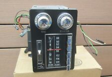 1969-1970 AMC AM FM Radio Ambassador Rebel Machine F9SMR OEM Option WORKS VIDEO!