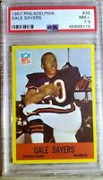 1967 Philadelphia #35. Gale Sayers. PSA 7.5. HOFer !!! RIP !!! (POP 8) HOC85🔥