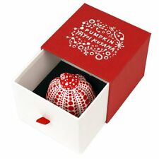 Yayoi Kusama Pumpkin art object Paperweight dot red from JAPAN DHL Fast Ship NEW