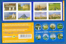 France #YTBC329 MNH Booklet CV€28.00 2009 Monuments Eiffel Bordeaux Nice [3680a]