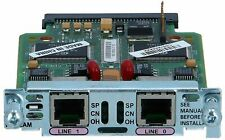 CISCO - WIC-2AM= - Two-port Analog Modem WAN Interface Card