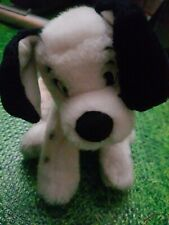 Disney Store 101 Dalmations Patch Soft Beanie Toy 12""