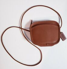 Coach Vintage Style # 9935 Hadley Brown Leather Mini Crossbody Bag!