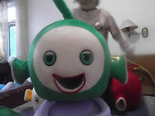 Teletubbies Gree(only Head )Mascot Costume Professional advertising handmade hot