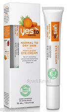 Yes to Carrots Moisturising Eye Cream - 15ml