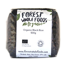 Forest Whole Foods Organic Black Rice (Free UK Postage) 500g