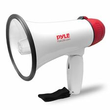 Megaphone Speaker PA Bullhorn Built-in Siren Adjustable Volume 800 Yard Range