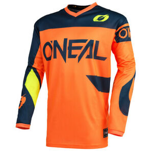O'Neal Element Racewear Orange Jersey motocross dirtbike off-road ATV MTB BMX