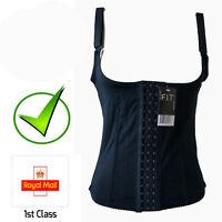 New Corset Waist Trainer Cincher Top Vest Boned Underbust Shaper UK Size 414