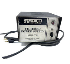 Vintage STACO Filtered Power Supply Model FPS-4 / 12 VDC Powers Up