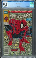 Spider-Man #1 - CGC 9.8 NM/M - Newsstand Version 8/90 Todd McFarlane