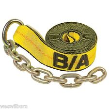 """BA Products 38-200C-L 14"""" Replacement Strap Rollback TieDown w/ Chain Flatbed"""